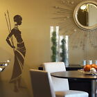 African Tribe Removable Vinyl Decal / Stylish Art Decor Big Art Wall Decals X66