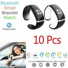 Best 10 Pcs Bluetooth Wrist Smart Bracelet Watch Phone For IOS Android Phone AH