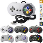 NEW 16 Bit Controller for Super Nintendo SNES System Console Control Pad US