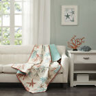 Madison Park Pebble Beach Oversized Cotton Quilted Throw image