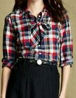 NEW! Tommy Hilfiger Shirt, Long-Sleeve Plaid Button-Down Size 6