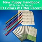 New Puppy Handbook - Canine Vaccine Health Record - ID Collars - Litter Record