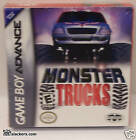 MONSTER TRUCKS (Nintendo Game Boy Advance) NEW!!! Racing GBA