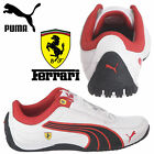 PUMA Scuderia Ferrari Drift Cat 4 Kids Trainers Boys Formula 1 Shoes F1 Sneakers