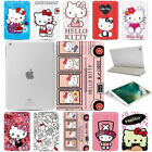 Cute Hello Kitty Cartoon Stand Magnetic Smart Tablet Case Cover For Apple Ipad