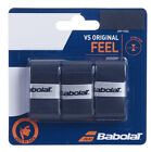Babolat VS Grip Original Overgrips Tennis Badminton - Pack of 3 - Free UK P&P