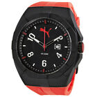 Puma Iconic Black Dial Rubber Sports Mens Watch - Choose color
