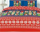 OFFICIAL MARRY CHRISTMAS DUVET QUILT COVER BEDDING SET