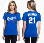 Walker Buehler Los Angeles Dodgers #21 Jersey Inspired Women's Graphic T on Ebay