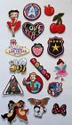Embroidered Iron On Patches Sew on Patches Badge Transfers Fancy Dress Brand New £2.49 GBP
