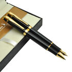 Black Fountain Pen or Gel RollerBall pen  Kaigelu 362 Stationery Free Shipping