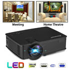 MINI 2000lumen LED Projector 1080P 3D Home Theater Outdoor 100'' Movie Screen AU