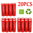 Lot 100X UltraFire 3.7V 18650 3000mAh Li-ion Rechargeable Battery For Flashlight