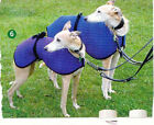 Thermatex Whippet Dog Coat. Small (size 4). All colours.  Standard Whippet Size
