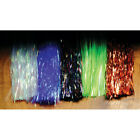 Hedron Flashabou Tinsel Fly Tying Materials - All Colors & Sizes