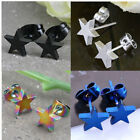 Unisex Stainless Steel Star Cool Earrings Ear Stud Wholesale Price Gifts Hot