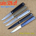 Ikiv Kwaiken Pocket Folding Tactical Knife G10 Steel Handle Ball Bearing Flipper