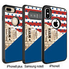 mobile back cover for iPhone 6 6s 7 8 X and Samsung Galaxy S8 S8+ Note 8 #250
