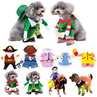 Pet Dog Cat Coat Christmas Gift Halloween Party Pet Fancy Costume Outfit Clothes