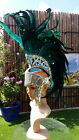 SAMBA Costume Giant MOHAWK Headpiece 5 Colors Carnival Feather Headdress OUTFIT