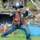 Pirate Fancy Dress/ Costume Accessory Pack Sizes Available Age 3 - 8 Years