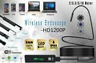 HD 1200P WIFI Cameras Snake Inspection Endoscope Waterproof IP68 Android & IOS