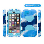Shockproof Protective Silicone Cover Kickstand Screen Protector For iPhone 6 New