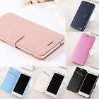 For Huawei P9 Lite Mini 2017 Luxury Flip Leather Slim Wallet Magnetic Case Cover