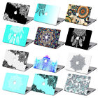 Ethnic Hard Case BOHO Mandala Prints Laptop Cover + Keyboard For Macbook Pro Air