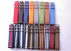 wholesale silver buckle Nylon Watch band watch strap watch 24color available