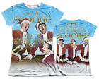 """The Three Stooges """"Be A Stooge"""" Dye Sublimation Girl's Junior Tee"""