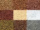 11/0 Preciosa Czech Glass Seed Beads Jewellery Making 20 grams - Various Colours