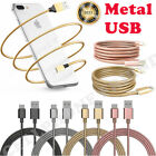 Mfi Lightning Metal Strong Cable Usb Charger For Apple Iphone 5 7 6s 6 Plus 8 X