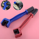 Plastic Steel Motorcycle Chain Gear Cleaning Brush Scrubber Outdoor Tool