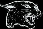 Cougar #3 1 Color Window Wall Vinyl Decal Sticker Printed Mascot Graphic