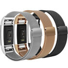 For Fitbit Charge 2 Band Milanese Loop stainless Steel Magnetic Clasp Strap