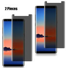 2X For Samsung Galaxy Note 8 Privacy Screen protector 3D Tempered Glass Anti-Spy