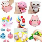 Funny Squishy Cute Owl Animals Bread Buns Cream Scented Slow Rising Kids Toys