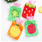 Latest Cute Fruit Print Student Hand Warmer Hot Water Bottle Covers Bag