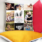 Personalised Printed Photo Cushion Collage Cushion Cover in colour custom prints
