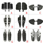 Motorcycle Non-slip Male Mount Foot Pegs Pedal for Harley Touring Chopper Bobber