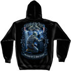Land of the Free Because of Our Brave Soldiers Wall Patriotic Hooded Sweatshirt