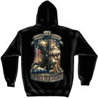 Honoring Our Heroes Remember Their Sacrifice Patriotic Hooded Sweatshirt