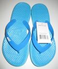 Nike Flip Flops Solay Thong Sandals Blue/White Print Women's