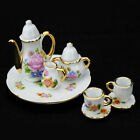 8x 1/6 Dollhouse Miniature China Porcelain Tea Set  For Barbie Philip doll decor