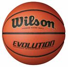BRAND NEW OFFICIAL WILSON EVOLUTION COMPOSITE LEATHER GAME BASKETBALL-SIZE 5 6 7