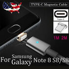 Magnetic Type-C Fast Charging Charger Cable for Samsung Galaxy Note 8 S8 Plus +