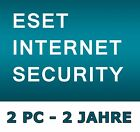 ESET Internet Security 2018 - Lizenz 1-3 PC / 2 Jahre