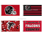Atlanta Falcons Flag 100D Polyester 3x5ft Mancave Outdoor Indoor 35+Styles NEW!