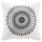 INK+IVY Fleur Embroidered Square Pillow image